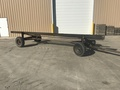 Home Made 20' header cart Header Trailer