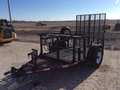 2009 Other 5X8 PROSYSTEM TRAILER Flatbed Trailer