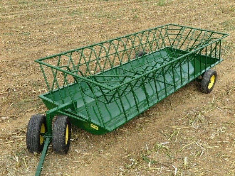 2019 Stoltzfus 8x24 Feed Wagon