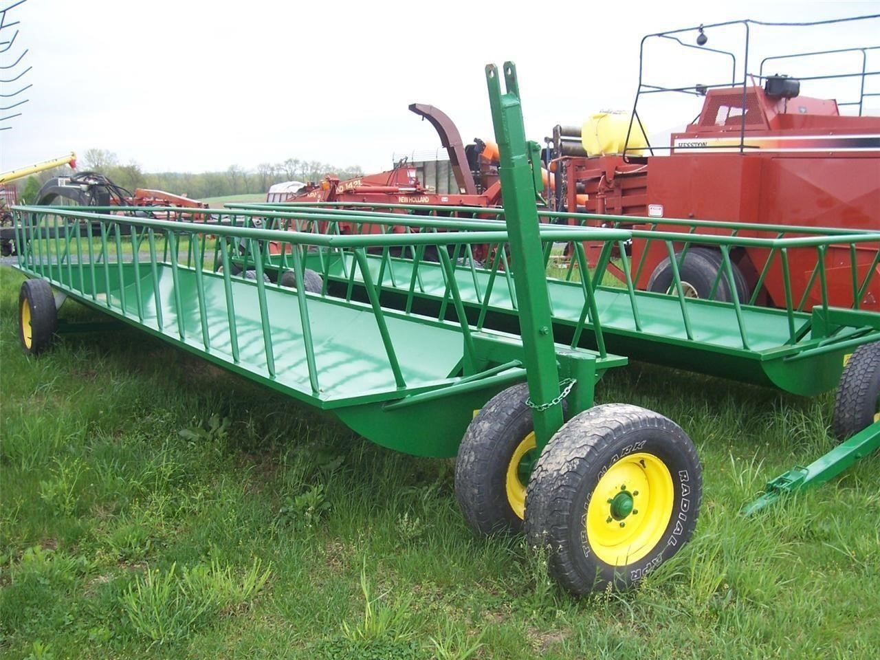 2021 Stoltzfus 516SK Bale Wagons and Trailer