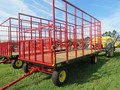 2018 Stoltzfus 8.5x18 Bale Wagons and Trailer