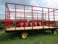 2021 Stoltzfus 8.5x20 Bale Wagons and Trailer