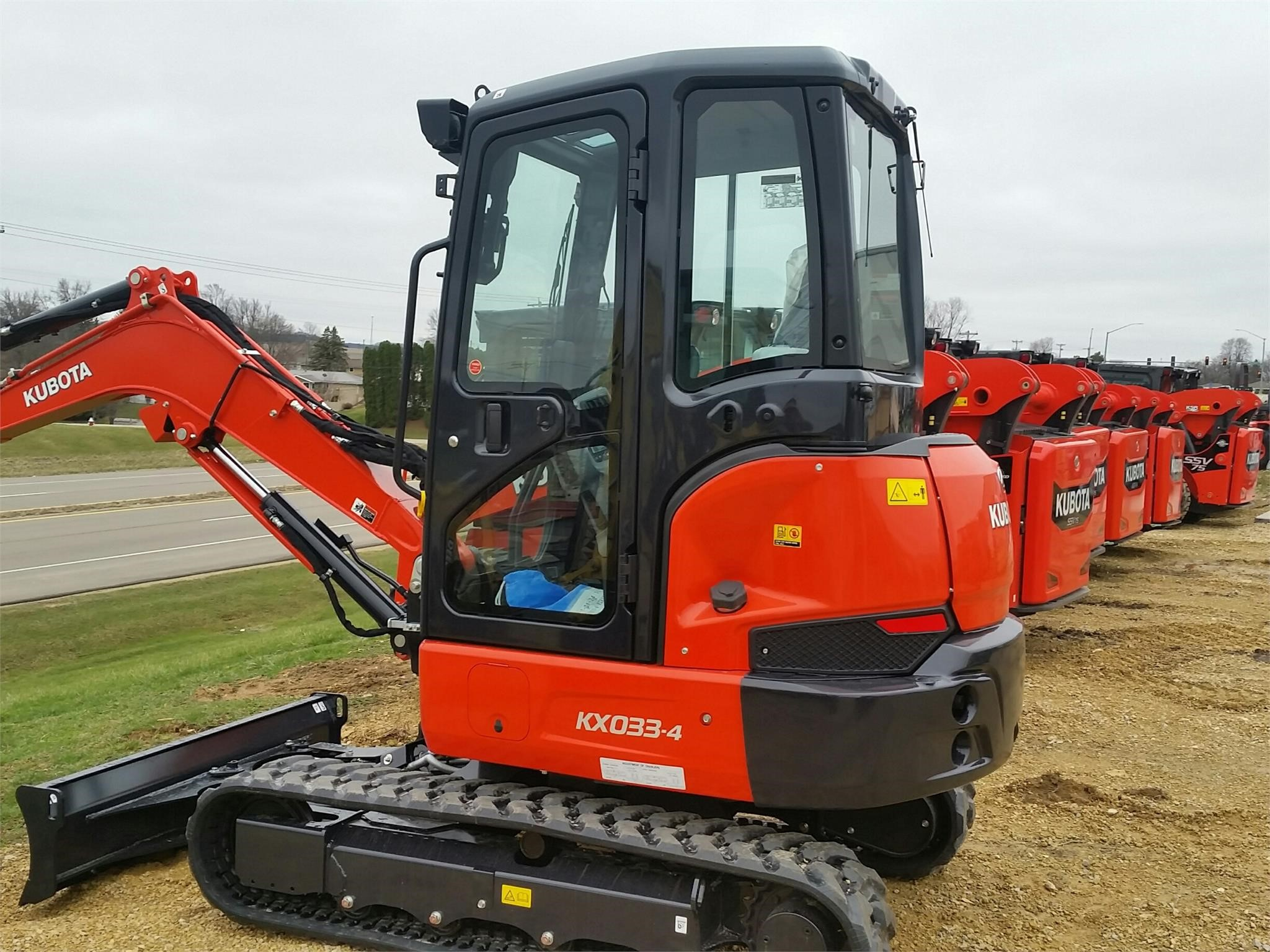 2020 Kubota KX033-4 Excavators and Mini Excavator
