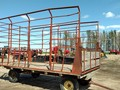 H & S BTR2D Bale Wagons and Trailer