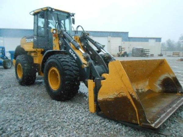 2014 Deere 624K Wheel Loader