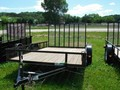 2015 Carry-On 7x12 Flatbed Trailer