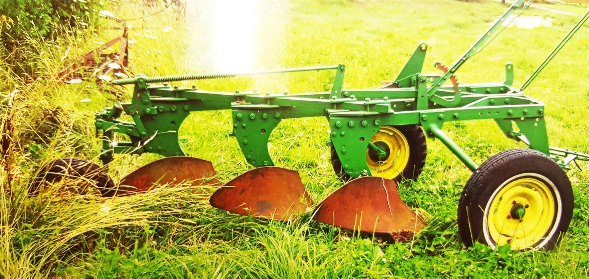 1957 John Deere 55 ABH Plow