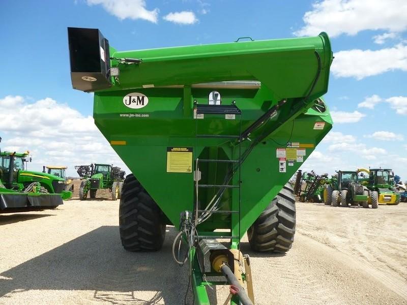 2015 J&M 1000-20 Grain Cart