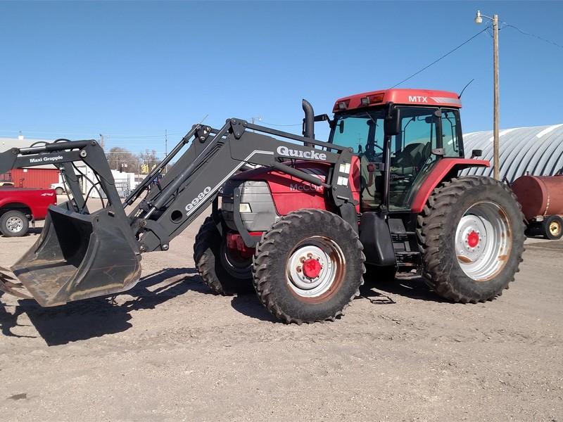 2003 McCormick MTX140 Tractor