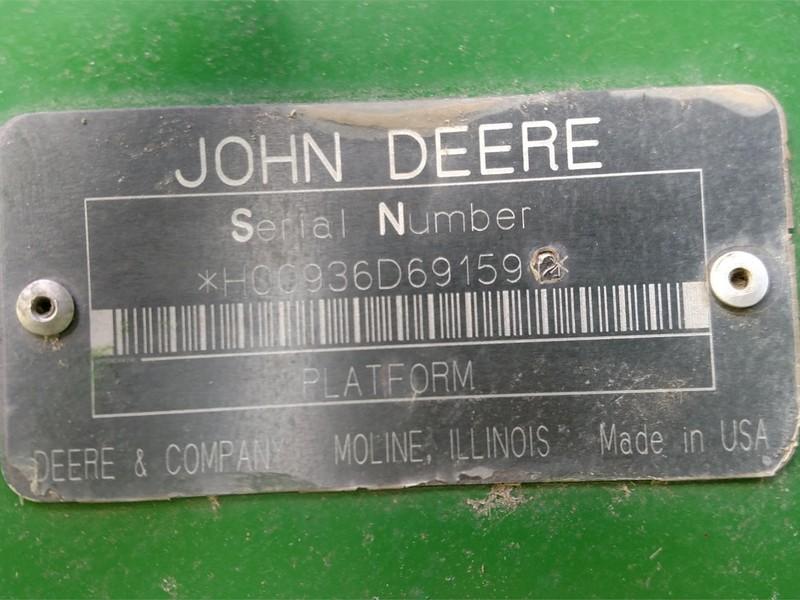 2001 John Deere 936D Platform