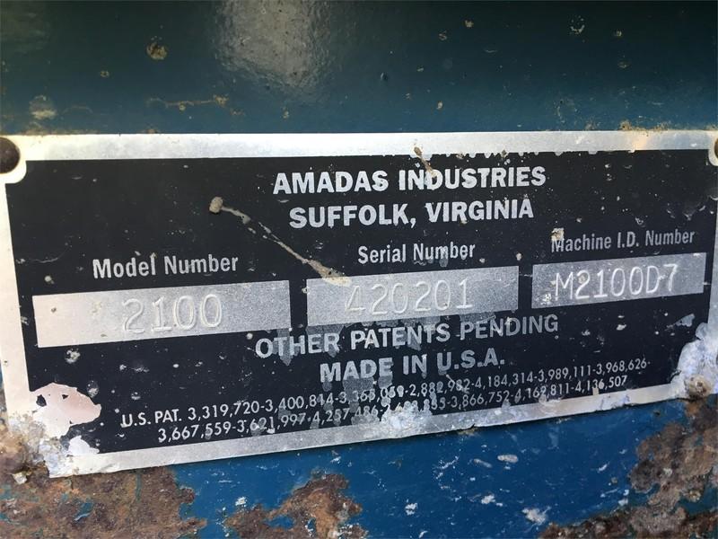2004 Amadas 2100 Peanut