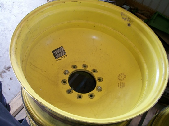 2002 John Deere 18x38 Wheels / Tires / Track