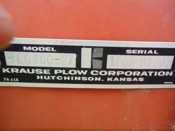 2005 Krause Landstar TL6400-27 Soil Finisher