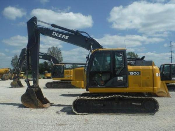 2013 John Deere 130G Excavators and Mini Excavator