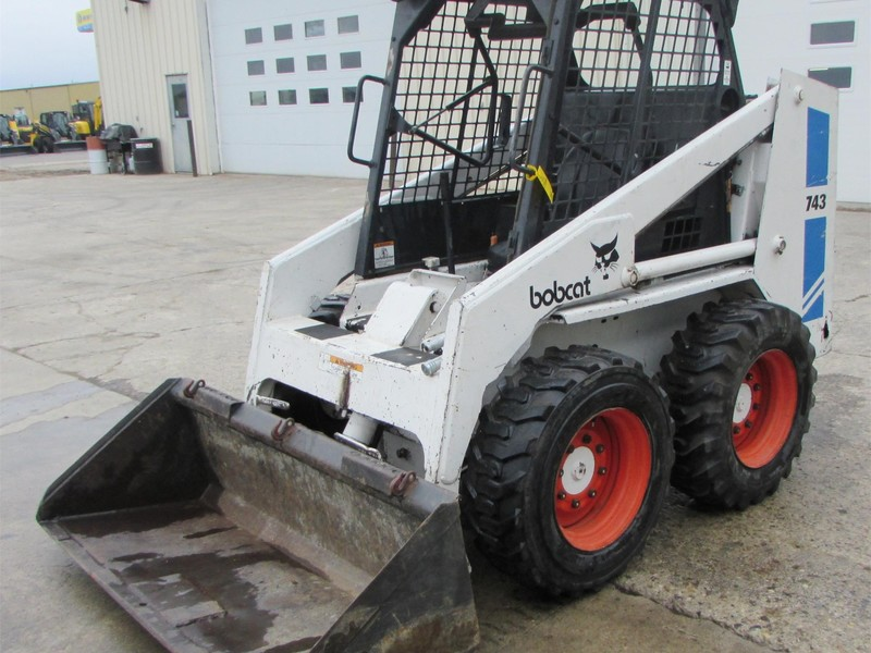 Used Bobcat 743 Skid Steers For Sale Machinery Pete