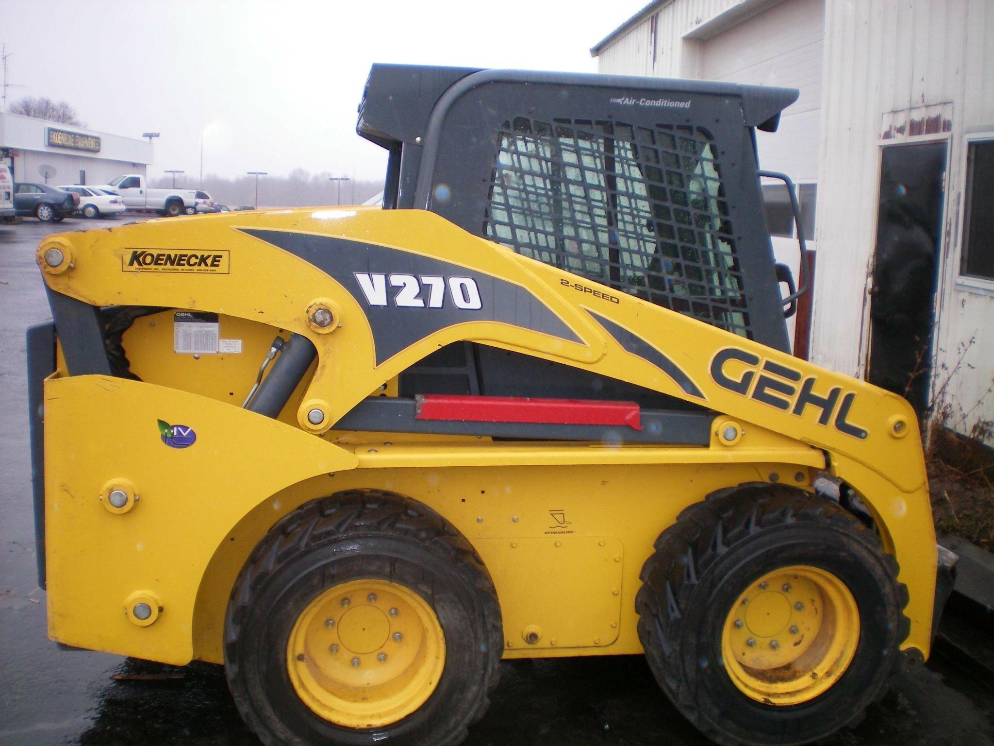 2012 Gehl V270 Skid Steer