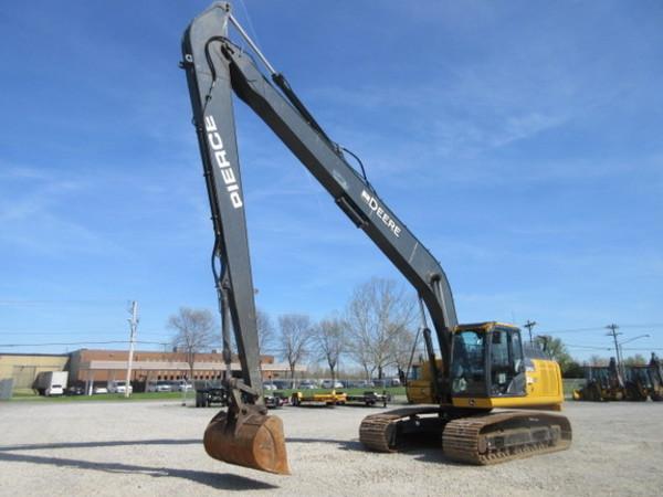 2014 Deere 210G LC Excavators and Mini Excavator