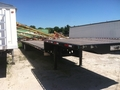 "2012 Transcraft 53'X102"" Flatbed Trailer"