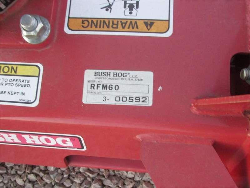 2008 Bush Hog RFM60 Rotary Cutter