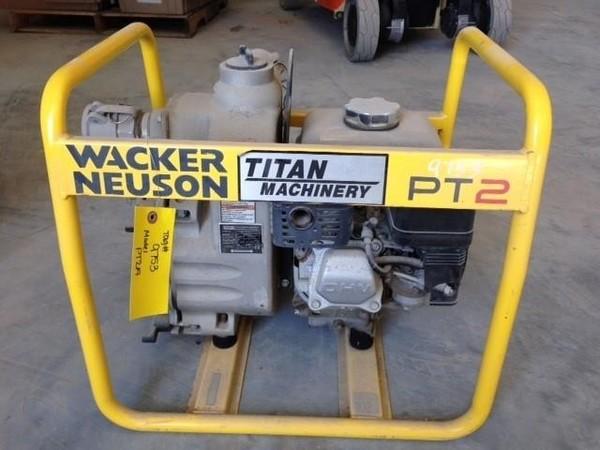 2012 Wacker Neuson PT2A Miscellaneous