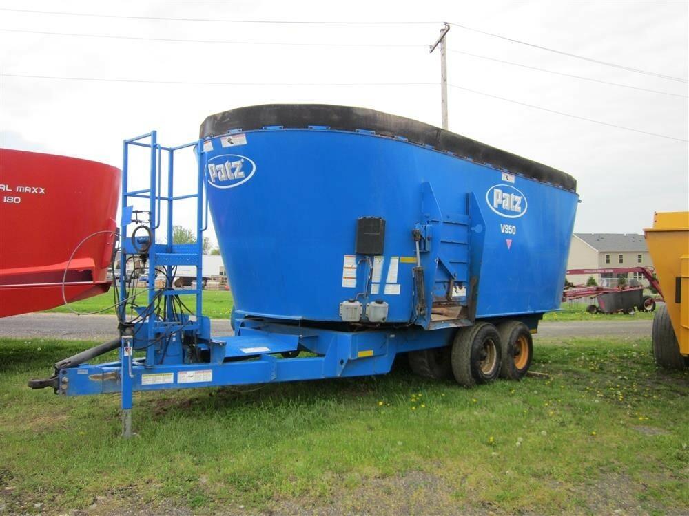 2010 Patz 950 Grinders and Mixer