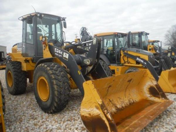2013 Deere 524K Wheel Loader