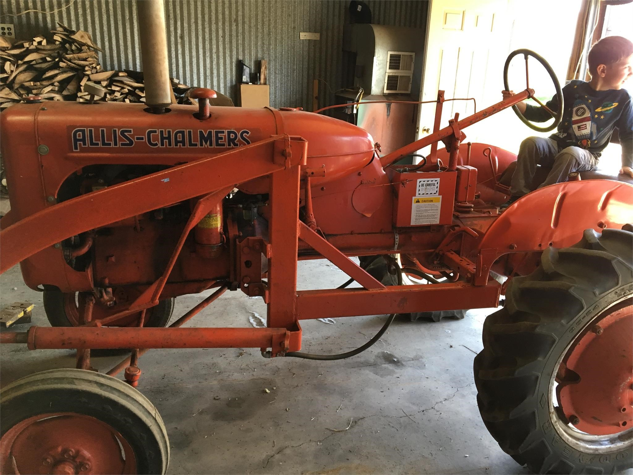 1955 Allis Chalmers B Tractor