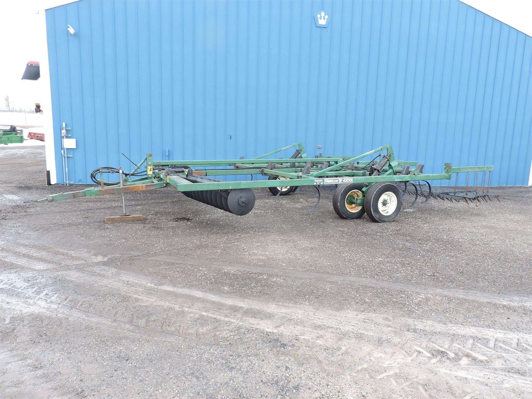 Glencoe SF4300 Soil Finisher