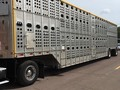 2007 Merritt Cattle pot Livestock Trailer