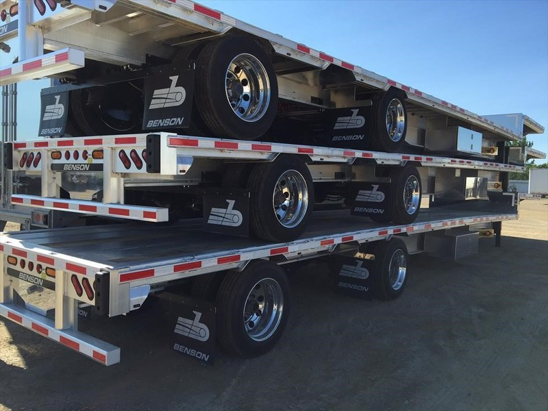 2019 Benson SLIDER 22.5 Flatbed Trailer