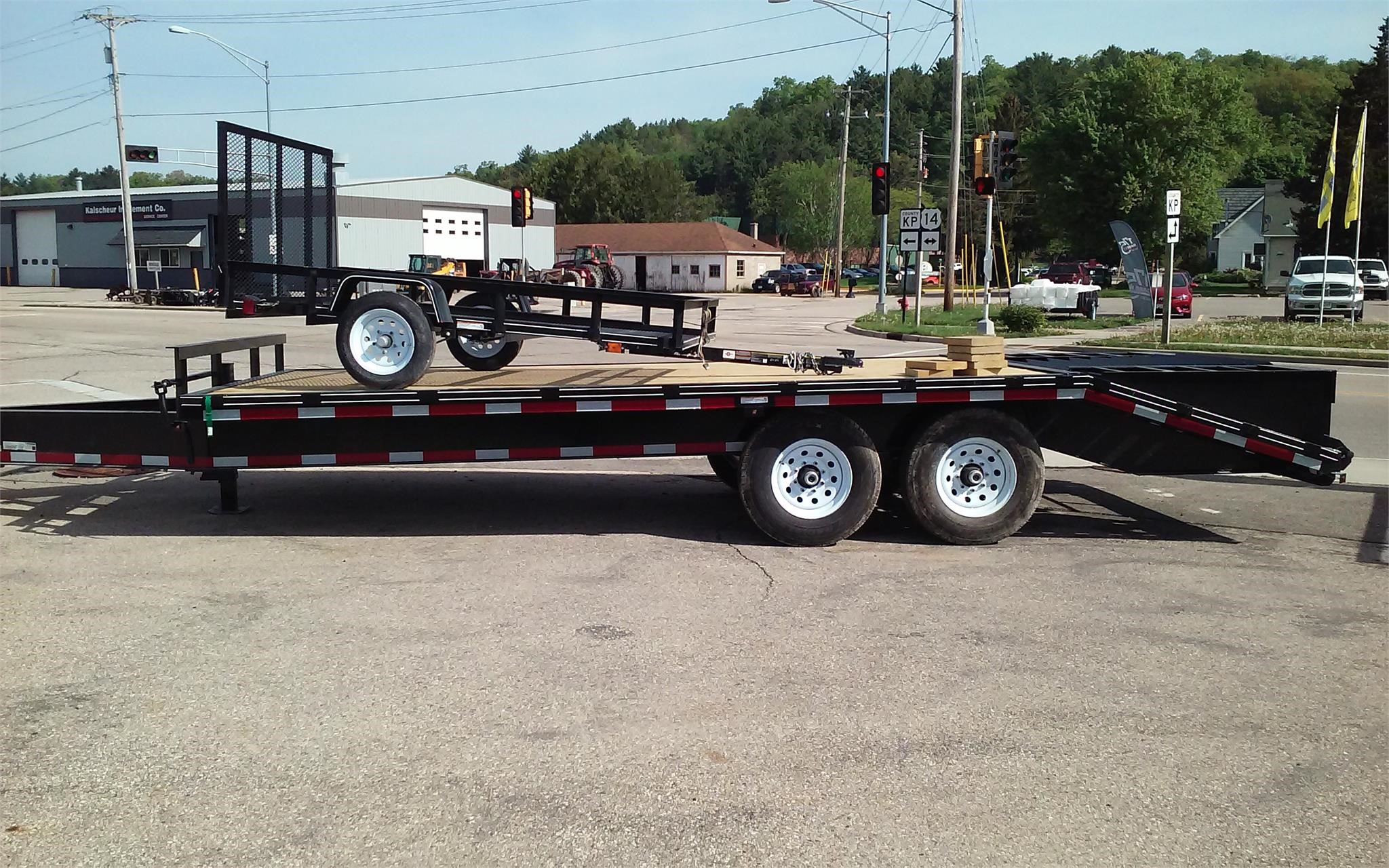 2018 Carry-On 8.5X20DOD Flatbed Trailer