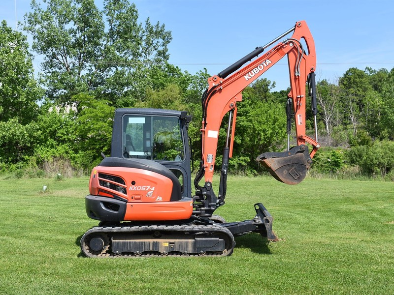 Used Kubota KX057 Backhoes for Sale | Machinery Pete