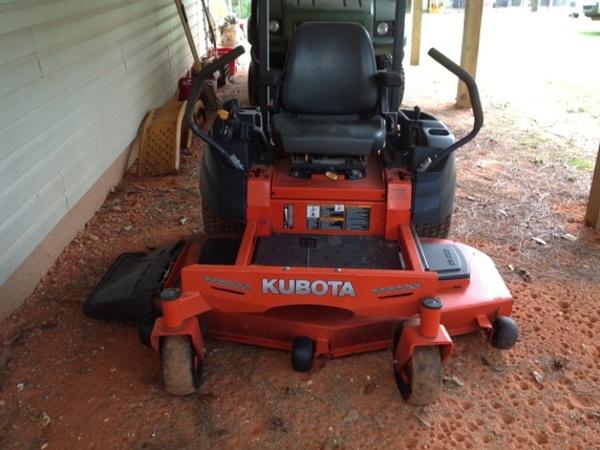 2015 Kubota Z125S Lawn and Garden