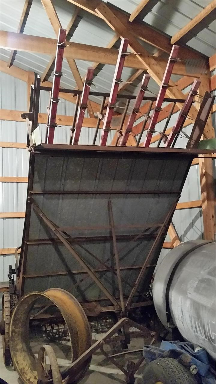 1949 John Deere 4 Hay Stacking Equipment