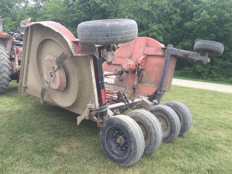 Bush Hog 3715 Batwing Mower Wheeler Illinois