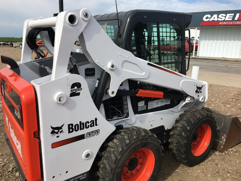 2016 Bobcat S570 Skid Steer