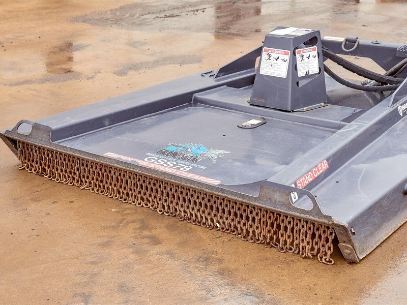 2015 Bradco GSS78 Loader and Skid Steer Attachment