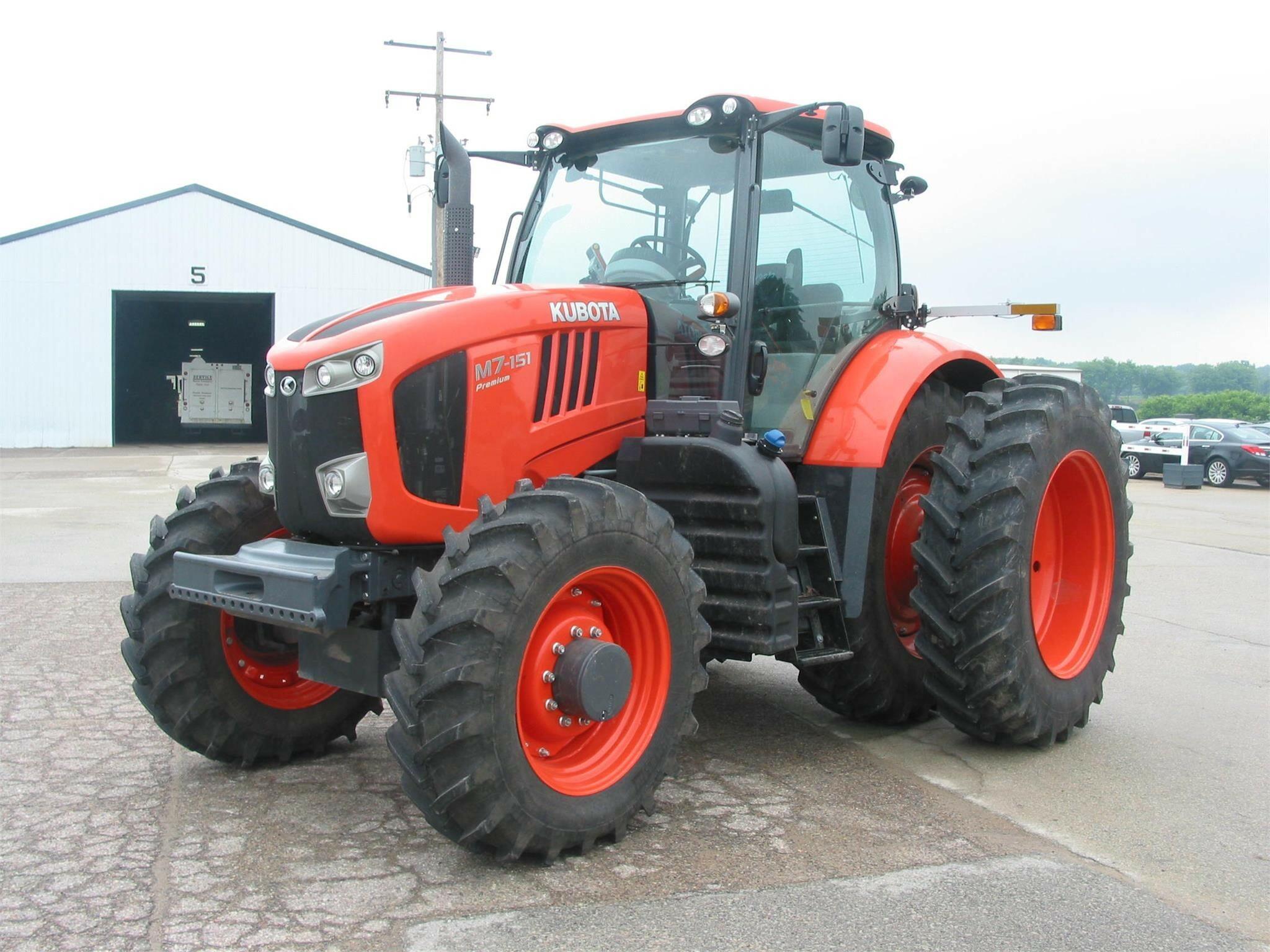 2016 Kubota M7-151 Tractor