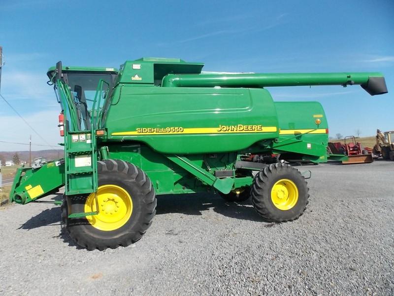 John Deere Combine >> John Deere 9550 Combines For Sale Machinery Pete