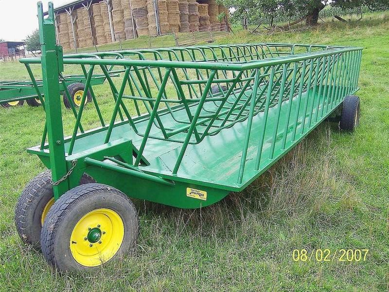 2018 Stoltzfus 8x24 Feed Wagon