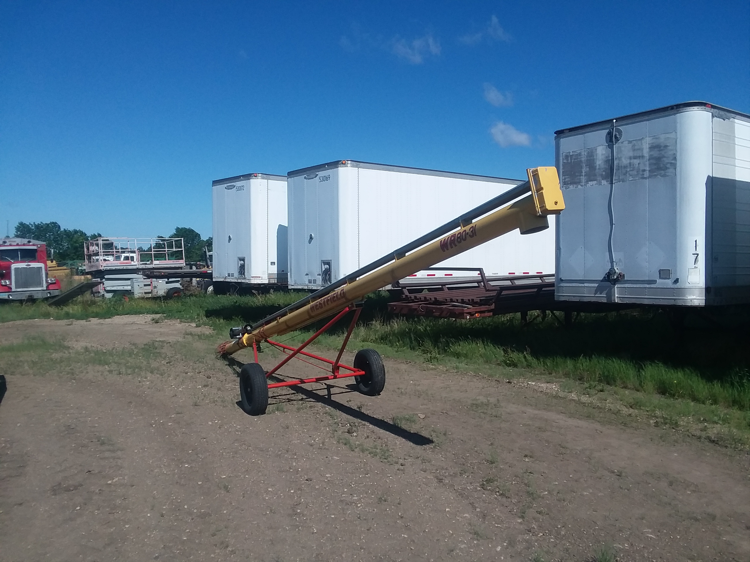 2011 Westfield WR80-31SD Augers and Conveyor