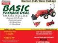 2017 Branson 3515R Tractor
