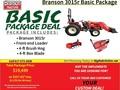 2017 Branson 3015R Tractor