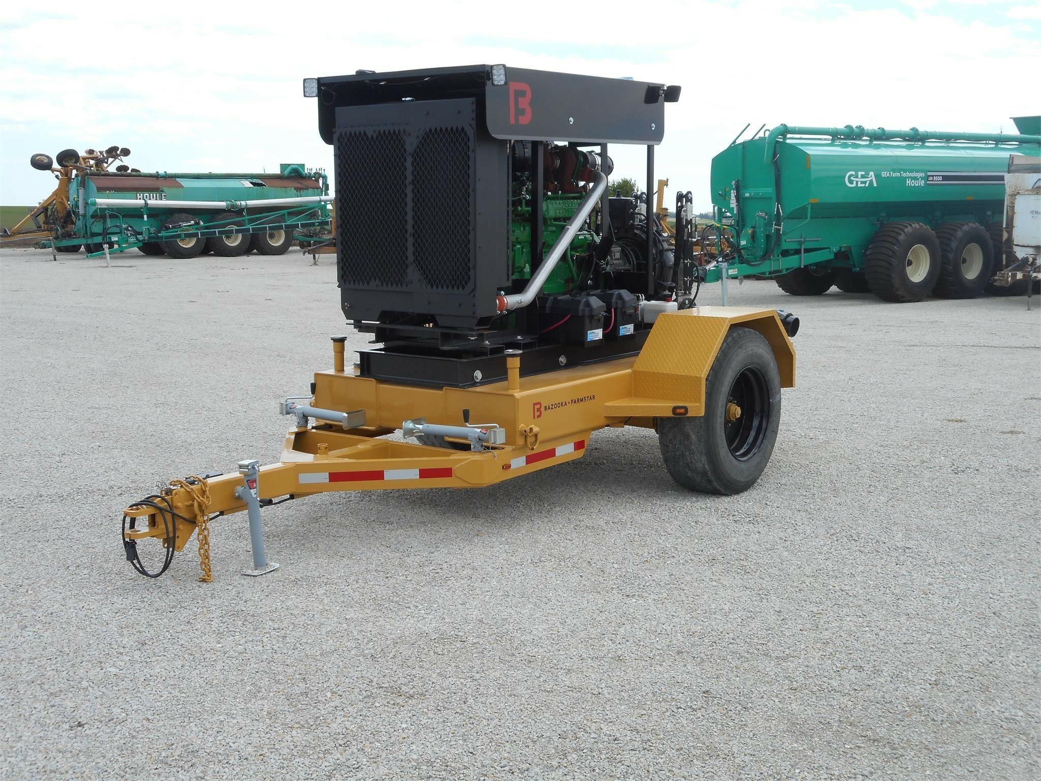 2018 Bazooka Farmstar Booster Pump Manure Pump