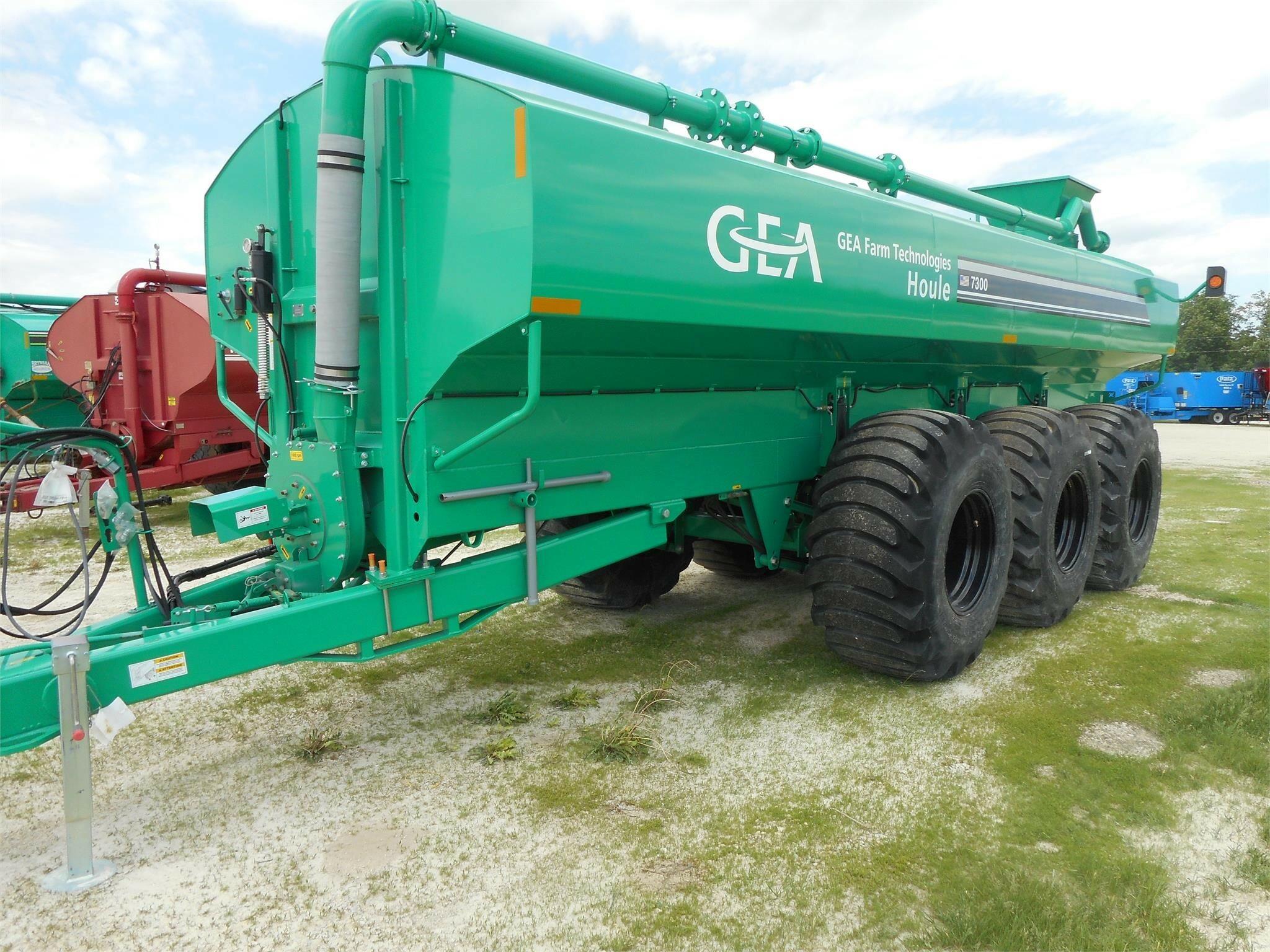 2021 GEA EL48-6D6100 Manure Spreader
