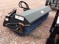 "2013 Virnig VAB96 ANGLE BROOM 96"" UNV QUIK TACH Loader and Skid Steer Attachment"
