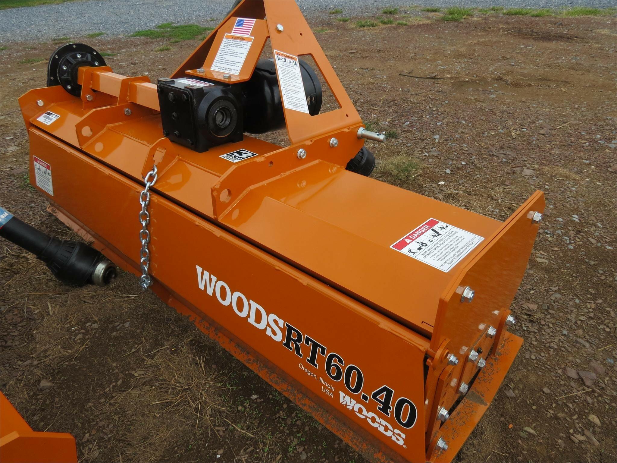 2021 Woods RT60.40 Mulchers / Cultipacker