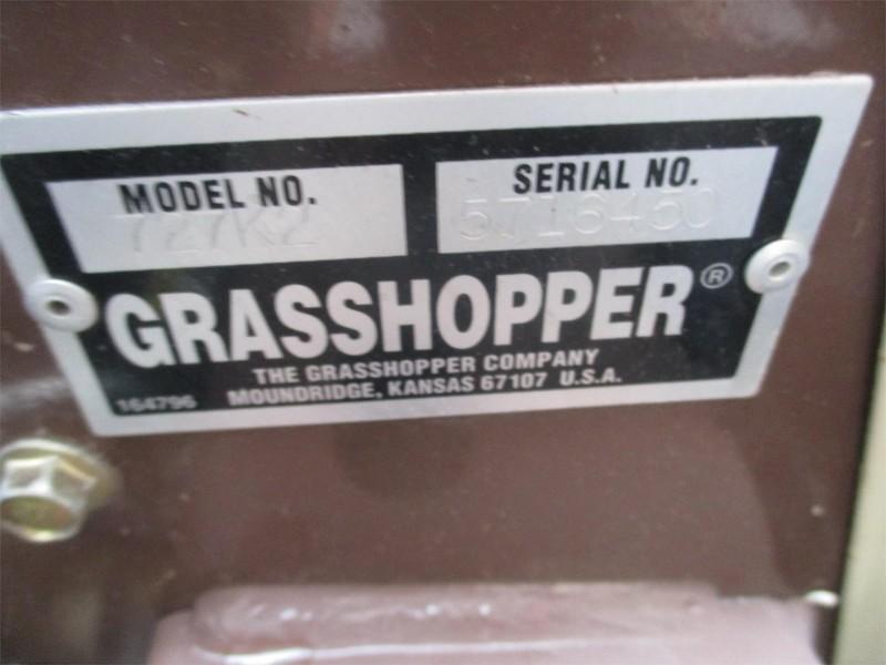 2007 Grasshopper 727K2 Lawn and Garden