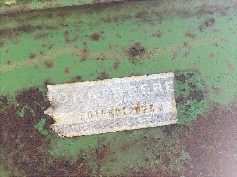 John Deere 158 Front End Loader