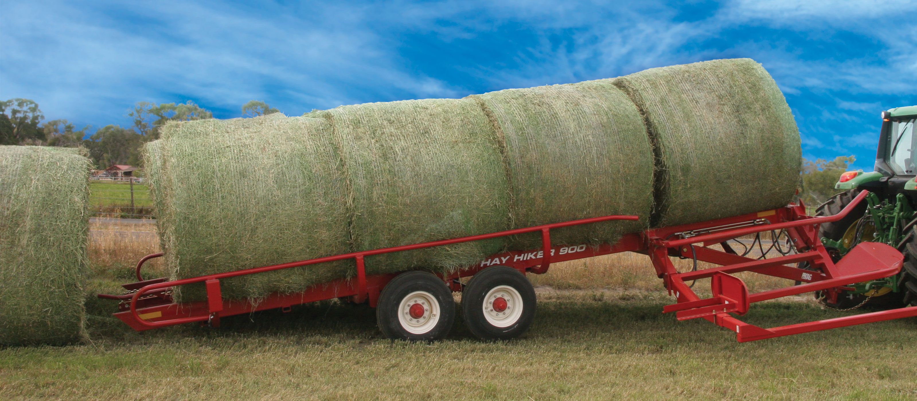 2018 ProAG Hay Hiker 900 Bale Wagons and Trailer